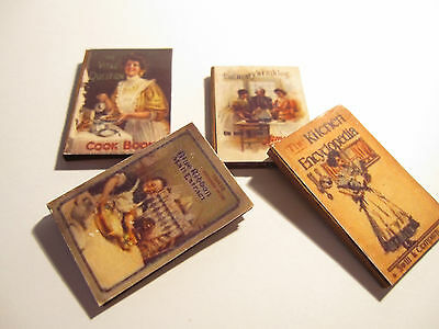 Dolls House Miniature  Books Set 2
