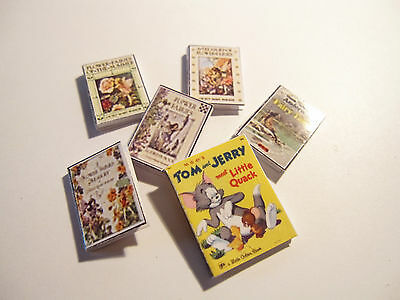 Dolls House Miniature  Books Set 5