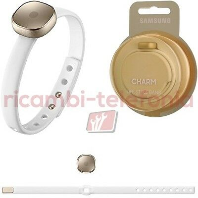 activity tracker Smart Charm originale Samsung oro wearable indossabile