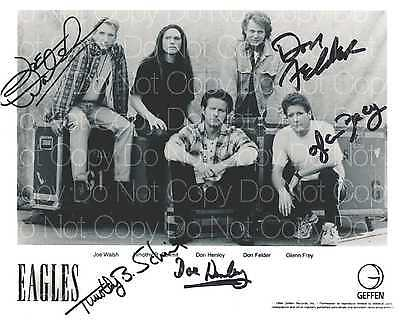 The Eagles signed Frey Henley Felder 8X10 photo picture poster autograph RP 2