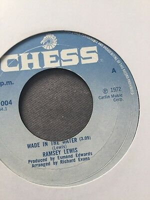 RAMSEY LEWIS Wade In The Water   Chess UK 1972  Northern Soul Classic