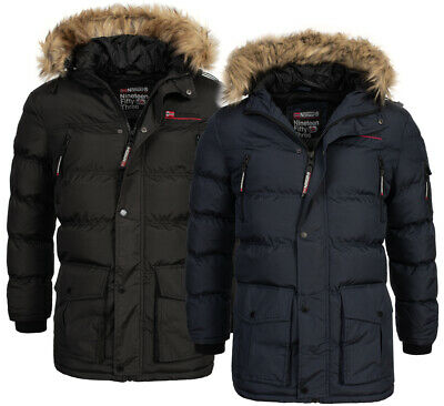 Geographical Norway warme Herren Winter jacke Outdoor winter Parka Anorak Mantel