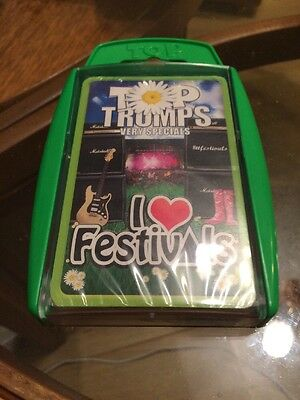 New And Sealed Winning Moves Top Trumps Very Special I Love Festivals