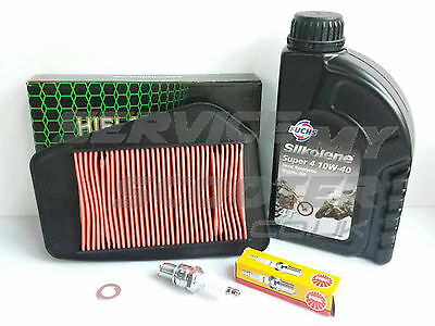 HONDA CBR R 125cc 04-11 HIFLO SERVICE KIT, OIL, SPARK PLUG, AIR FILTER