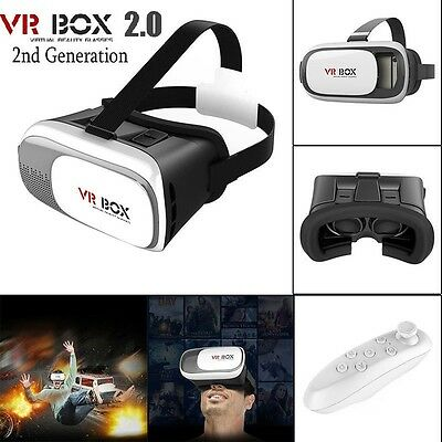 VR glasses VR Box 2.0 SONY Headset Virtual Reality cardboard iphone