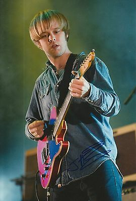 James Skelly Hand Signed 12x8 Photo The Coral.