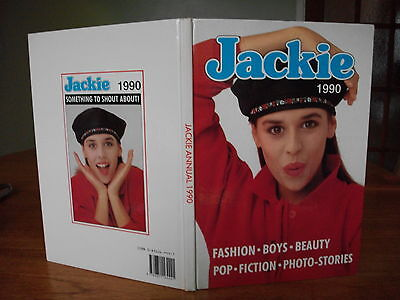 JACKIE annual 1990 in near mint condition for girls