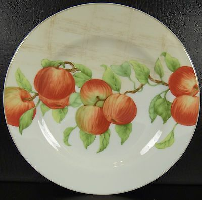 Block Mansfield Grove Salad Plate Fruit Apples