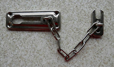 Security Chain Door Guard Lock Vintage