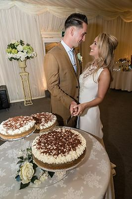 Cake Stand - Three Tier Round - Ideal for a Wedding/Party