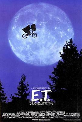 E.T. The Extra-Terrestrial Movie POSTER 27 x 40, Henry Thomas, A,  LICENSED NEW