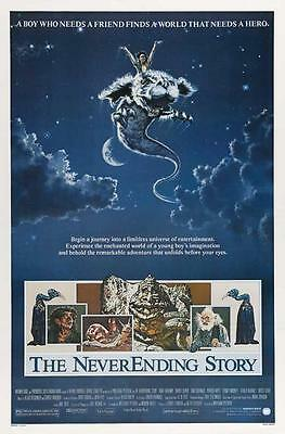 The NeverEnding Story Movie POSTER 27 x 40 Noah Hathaway, C, LICENSED, NEW !