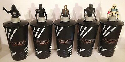 Star Wars: Rogue One Movie Theater Exclusive Cup Topper Set With 44 oz Cups