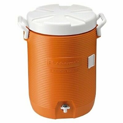 Rubbermaid Commercial 168501 - Insulated Beverage Container/Water Cooler, Orange