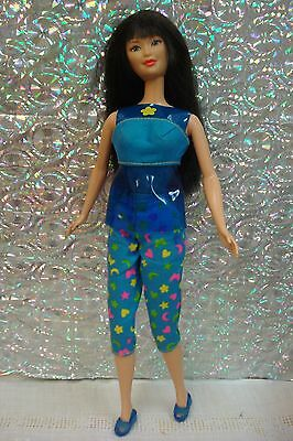 Sit In Style Kira Doll~Dressed In Blue Outfit~Complete, But No Chair~ Excellent