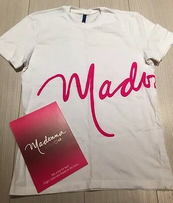 MADONNA - ULTRA RARE Promo H&M Employee Only T-Shirt - NEW & UNWORN *See Pics*