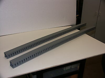 "2 pcs, Genuine Panduit Wire Duct, 1""w x 1""h x 36"" long, With Cover"
