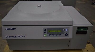 Eppendorf 5810R Refrigerated Benchtop Centrifuge W/ A-4-62 Swing Bucket Rotor