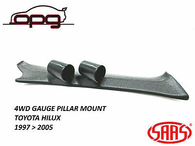 Saas Gauge Pillar Pod For Toyota Hilux Ln For 52Mm Gauges 1997 > 2005