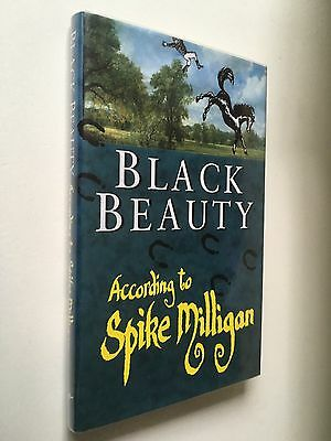 SIGNED SPIKE MILLIGAN - Black Beauty According To Spike Milligan - 1/1 HBK GOONS
