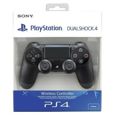 Original Sony Ps4 Wireless Dualshock-Controller V2 Black  Ps 4 Controller Neu
