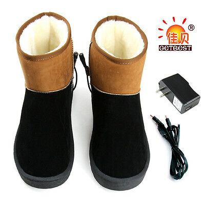USB power supply electric heating shoes free shipping comfortable warm shoes