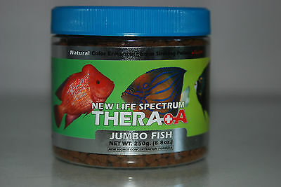 New Life Spectrum Thera A Jumbo Fish Extra Garlic 500g Tub 6mm Sinking Pellets
