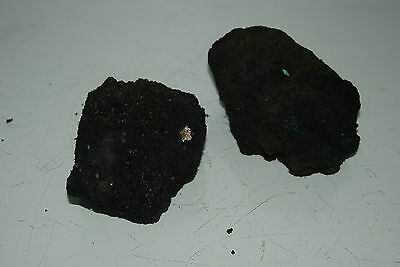 Natural Aquarium Black Lava Rock 2 Small Pieces Suitable for All Aquariums BF