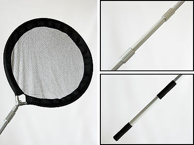 Koi Carp Garden Pond Panning & Inspection Net 60cms with Telescopic Handle