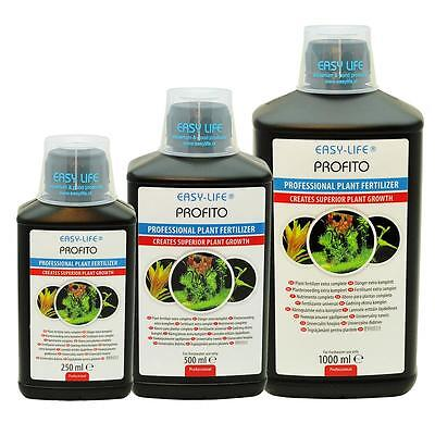Easy Life PROFITO Plant Food Fertiliser Aquarium Water Treatment 250 500 1000ml