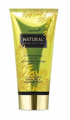 Tannymaxx Natural Vegan Skin Care UV-Preparation Lotion 175 ml.