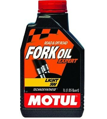 Motul Fork Oil Expert Light 5W Slightly CB CBF Z750 Z800 GSR GSF