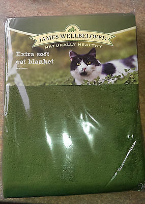 James Wellbeloved Extra Soft Cat Blanket 50 x 100cm brand new