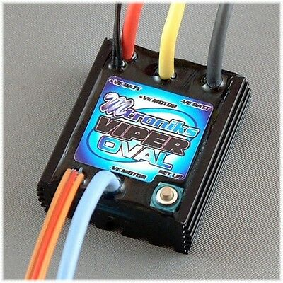 Mtroniks VIPER OVAL Speed Controller for Opal RC Cars Brushed Waterproof Car ESC