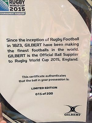 Rugby World Cup 2015 Ball Limited Edition #015