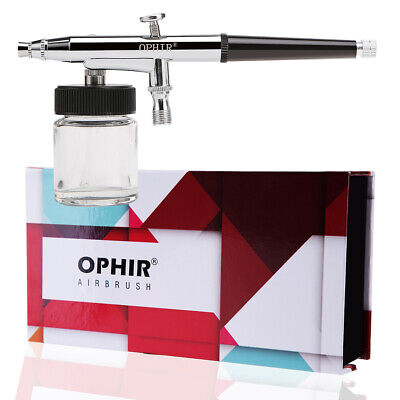 OPHIR Great 0.3mm Dual-Action Gravity Feed Master Airbrush Gun Set for Nail Art