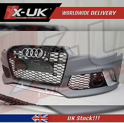 Rs6 Style Front Bumper Conversion For Audi A6 S6 C7  2012-2014