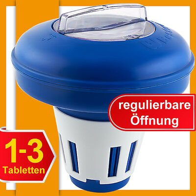 Floating Pool Chemical Dispenser For Water Care 16.5 cm Pool Cleaning Floater