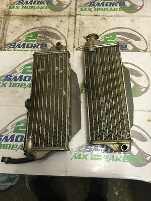 husqvarna Te 310 2013 Pair Of Radiators Left Right