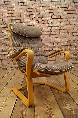 60s Retro Bröderna Anderssons EASY CHAIR ARMCHAIR LOUNGE FAUTEUIL Vintage SWEDEN
