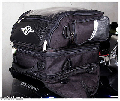 MOTODRY MOTO DRY MOTORCYCLE TANK BAG *TRIPLEX* WATERPROOF 22 Litre 3 STAGE