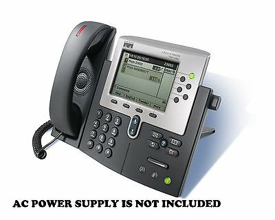 Cisco Unified IP Phone CP-7960 CP-7960G 7960 7960G - NO POWER ADAPTER INCLUDED !