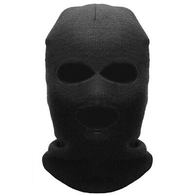 New Winter Warm Full Face Mask 3 Holes Cover Neck Guard Scarf CS Shield Ski