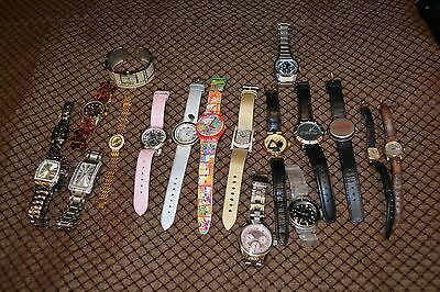 Lot Of AS IS Watches Most Just Need Batteries