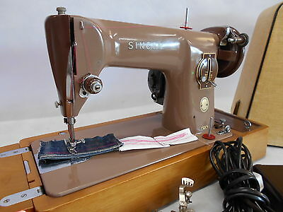 Heavy Duty Singer 201k Electric Domestic Sewing Machine