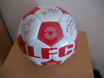 Signed Liverpool Football by 1999 - 2000 Squad LFC Steven Gerrard