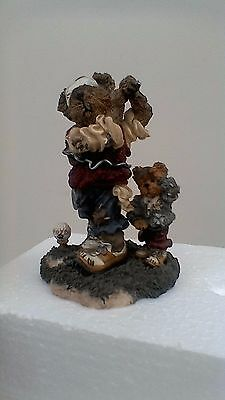 Boyds Bears resin sculpture, Arnold P Bomber...The Duffer, No:227714