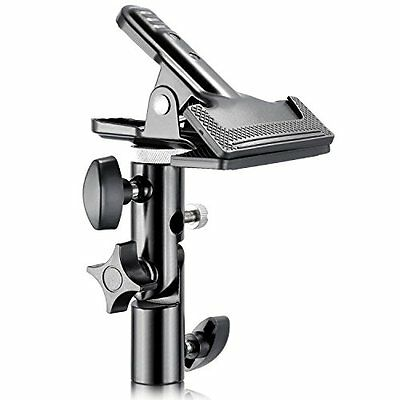 Phot-R Heavy Duty Metal Studio Reflector & Background Clamp with Light Stand