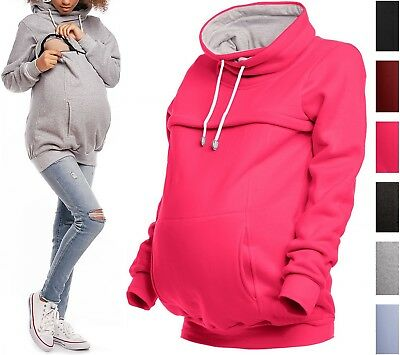Happy Mama. Women's Nursing Sweatshirt Breastfeeding Layered Top Maternity. 354p