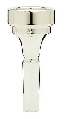 Denis Wick Brass band cornet silver plated mouthpiece 3